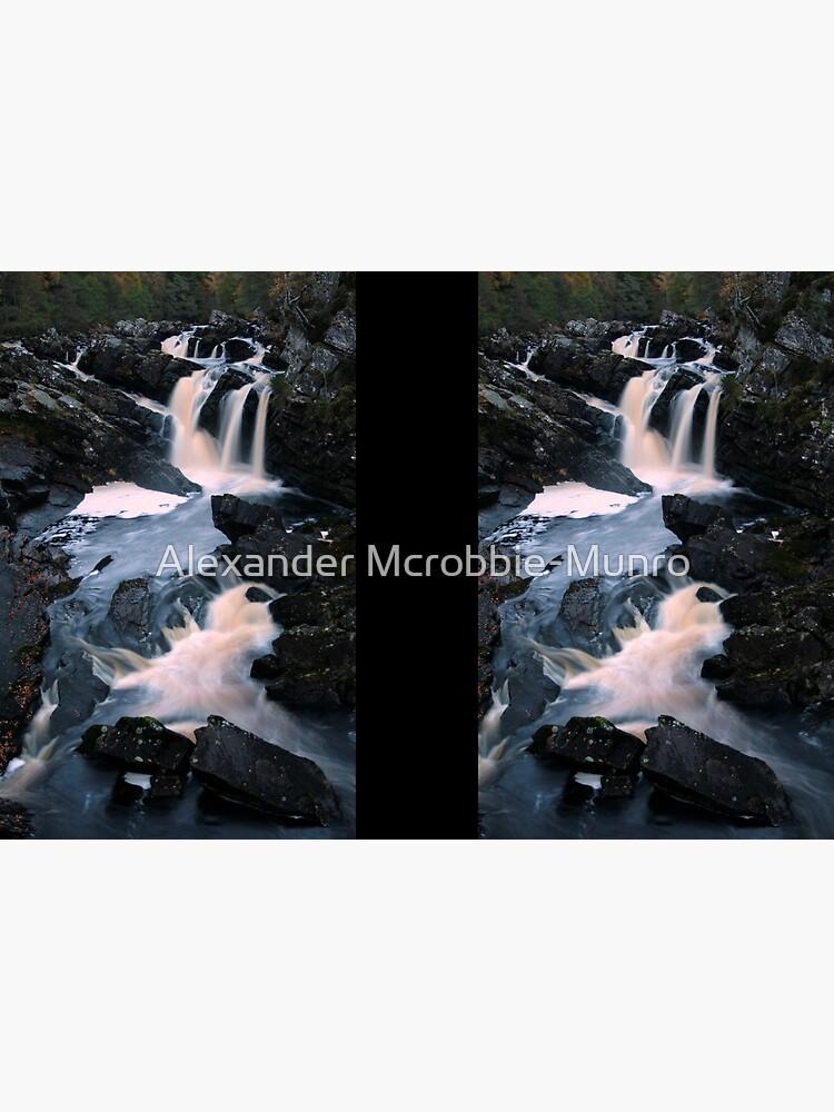 Rogie  Falls by Alexanderargyll
