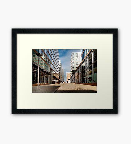 The Hub - Milton Keynes  Framed Print