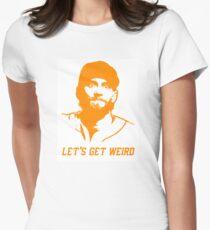"""""""Let's Get Weird"""" - Hunter Pence Women's Fitted T-Shirt"""