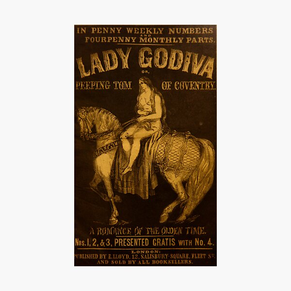 """""""The Lady Godiva or Peeping Tom of Coventry"""" Photographic Print"""