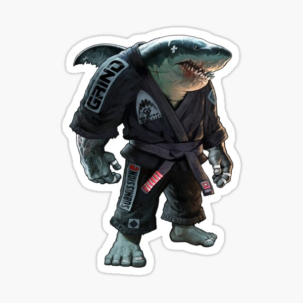 Original Ground Shark Sticker