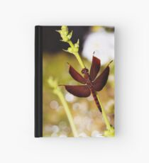 red dragonfly Hardcover Journal