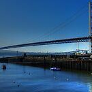 Forth Road Bridge, South Queensferry, Scotland. by AlbaPhotography