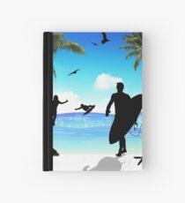 surf Hardcover Journal
