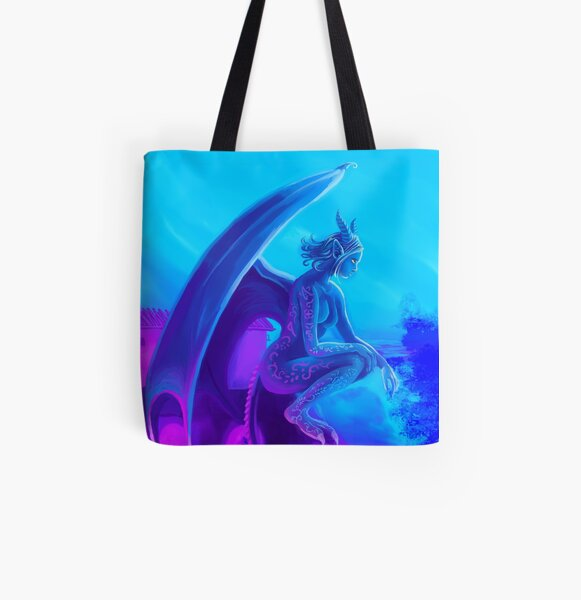 Kythri All Over Print Tote Bag