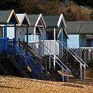 Beach Huts by FraserJ