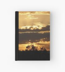 Sunset, Kingaroy Qld Hardcover Journal