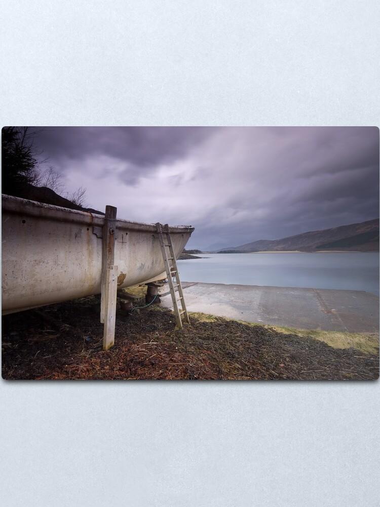 Alternate view of Boat Metal Print