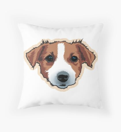 Tootsie Throw Pillow