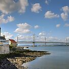 The Forth Road Bridge, South Queensferry, Scotland by AlbaPhotography