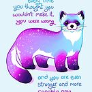 """Every Time You Thought You Wouldn't Make it, You Were Wrong"" Black Footed Ferret by thelatestkate"