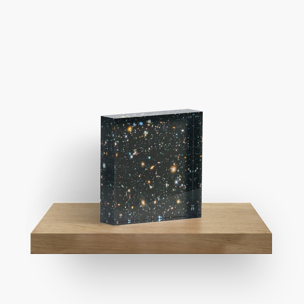 Hubble Extreme Deep Field Acrylic Block