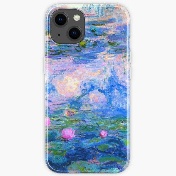 Water Lilies Claude Monet  iPhone Soft Case