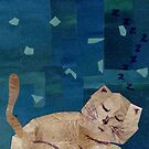 Sleeping Kitty by Jennifer Frederick