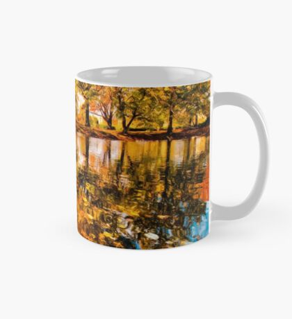 Boston Fall Foliage Reflection Mug