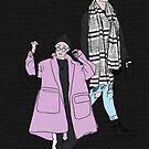 BTS J-Hope Airport Fashion - Schwarz von imgoodimdone