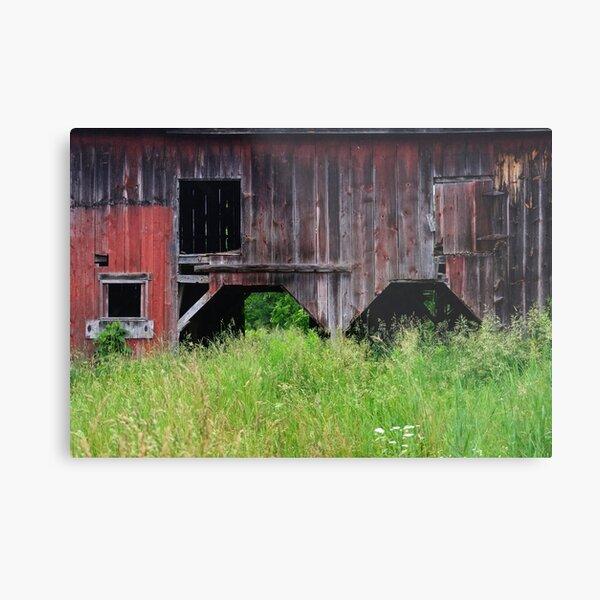 Timeworn Barn Metal Print