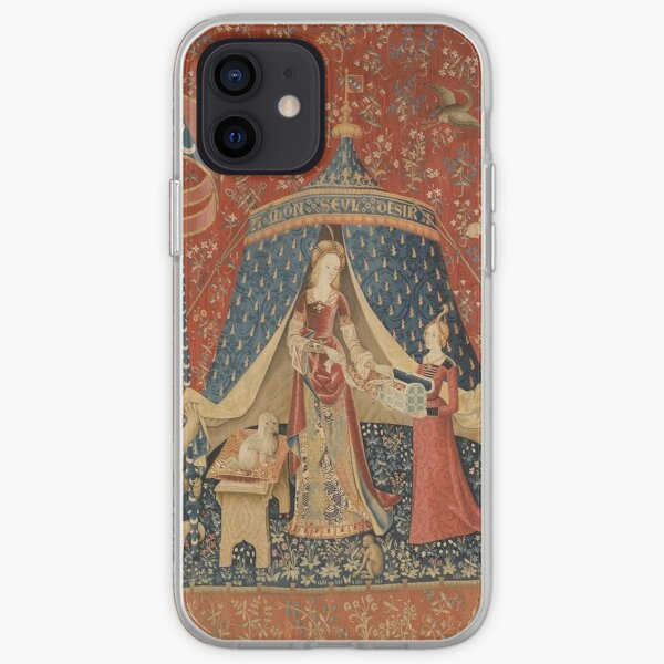 The Lady With A Unicorn  iPhone Soft Case