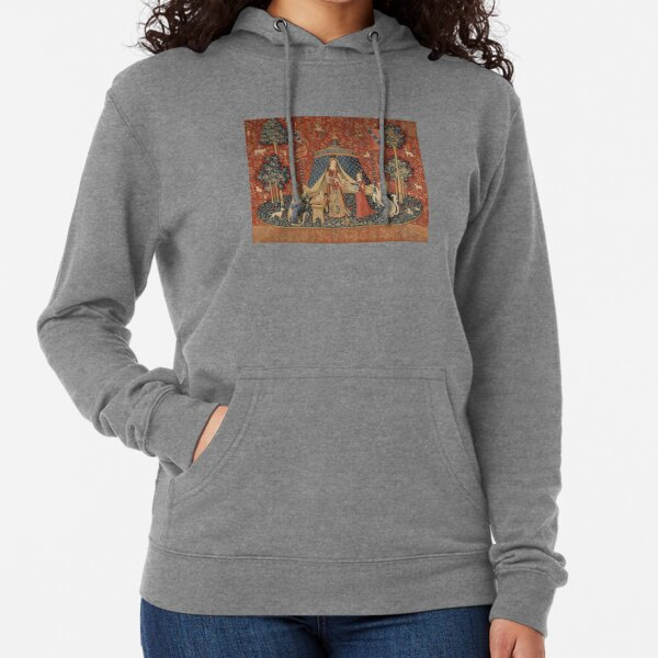 The Lady With A Unicorn  Lightweight Hoodie