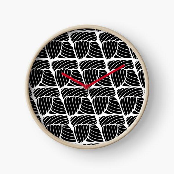 Crochet Single Stitch Clock