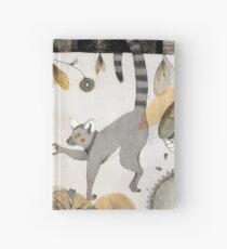 Cuaderno de tapa dura Lemures enamorados