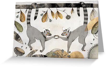 Verliebte Lemuren von Judith Loske
