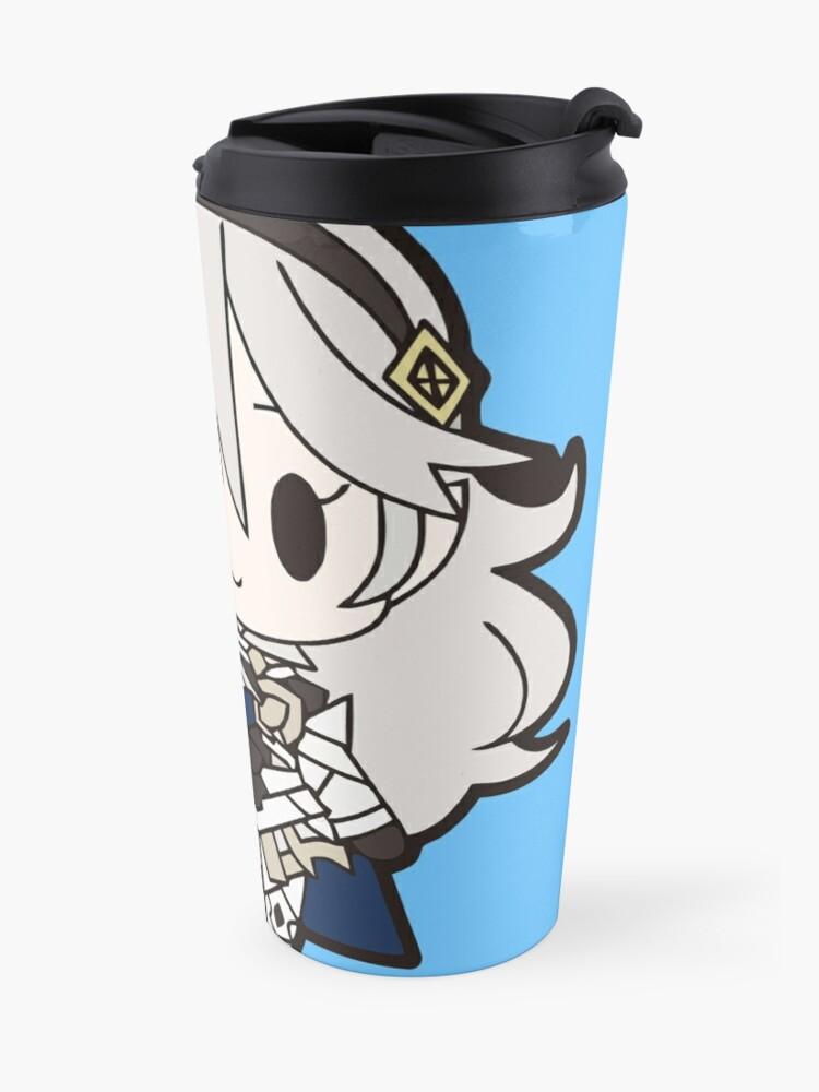 Alternate view of Fire Emblem: Fates Kamui Chibi (Female) Travel Mug