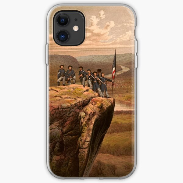 Union soldiers at Point Lookout, Tennessee iPhone Soft Case