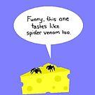 Spider Dining by Nebsy