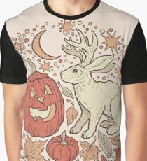 Halloween Friends | Autumn Palette Graphic T-Shirt