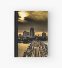 Sunset from the Pier Hardcover Journal