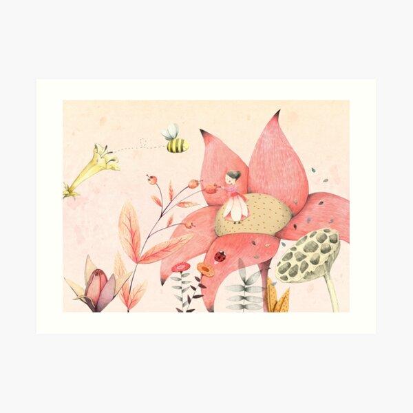 Thumbelina I Art Print