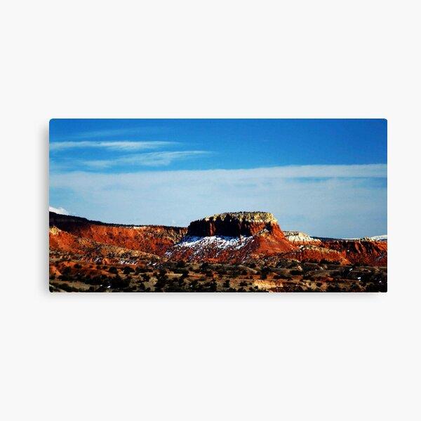 Abiquiu, New Mexico, USA by CheyAnne Sexton Canvas Print