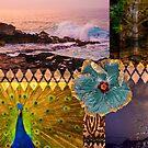 Poipu Sunrise, Kauai Hawaiian Digital Mixed Media by HealthyTrekking