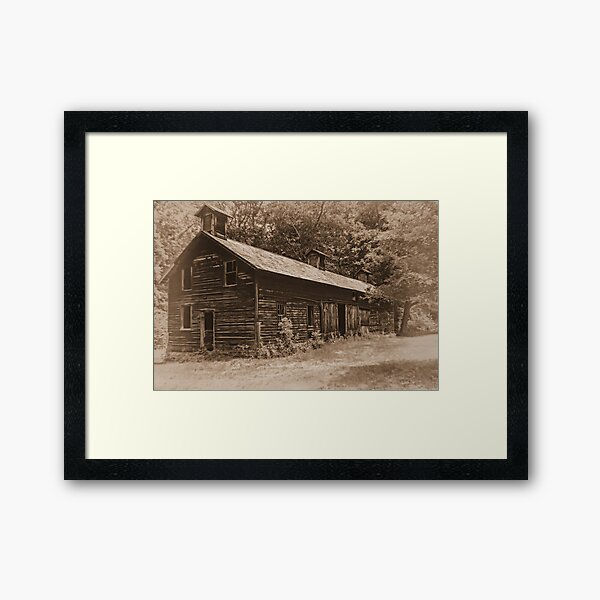 The Hog Barn Framed Art Print