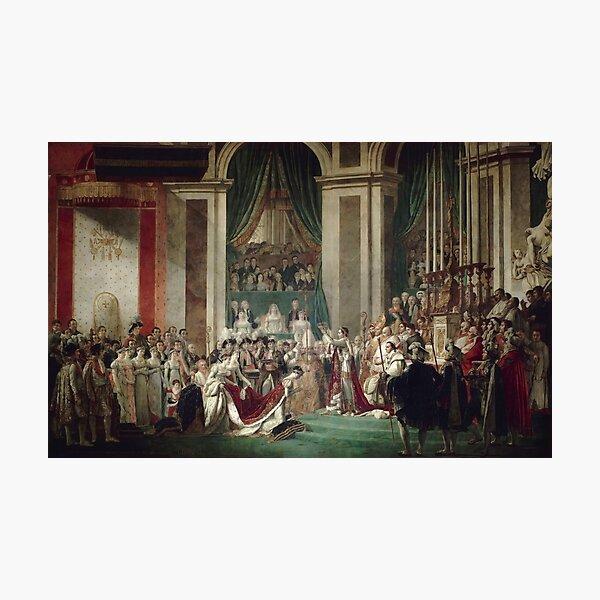 The Coronation of Napoleon and Josephine - Jacques-Louis David Photographic Print