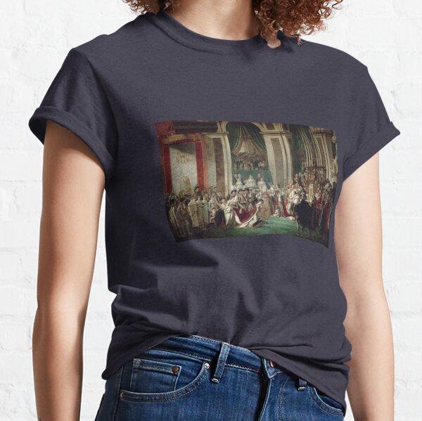 The Coronation of Napoleon and Josephine - Jacques-Louis David Classic T-Shirt
