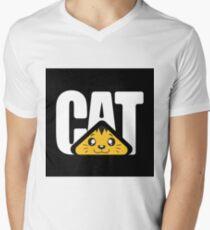 CAT Machine Camiseta de cuello en V