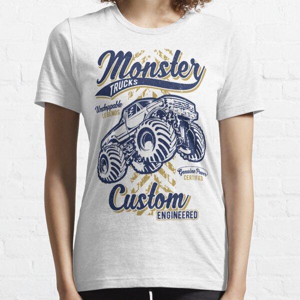 Monster Truck Custom Engineered Essential T-Shirt