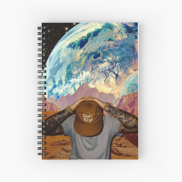 Don't Trip Spiral Notebook