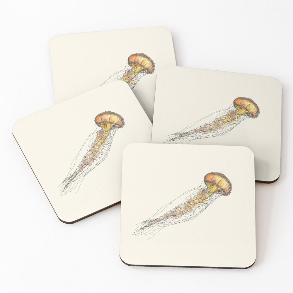 Jellyfish Coasters (Set of 4)