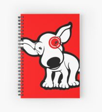 EBT Target Eye Patch Puppy Spiral Notebook