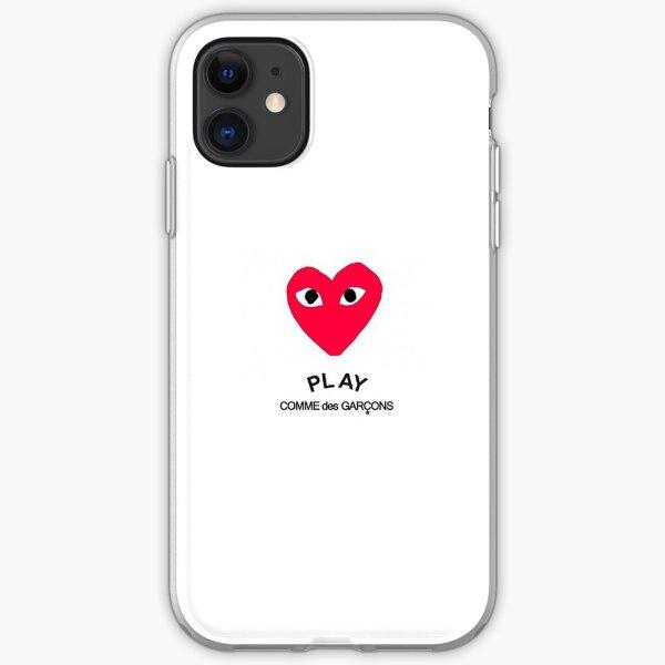 PLAY comme des GARÇONS iPhone Soft Case