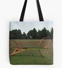 Antique farm implement Tote Bag