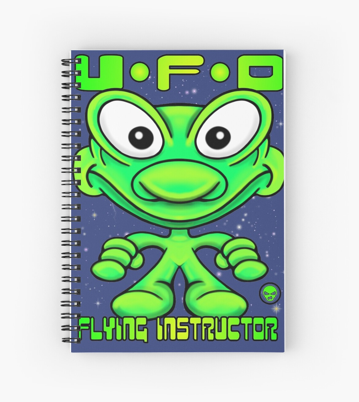 UFO Flying Instructor T by Sookiesooker