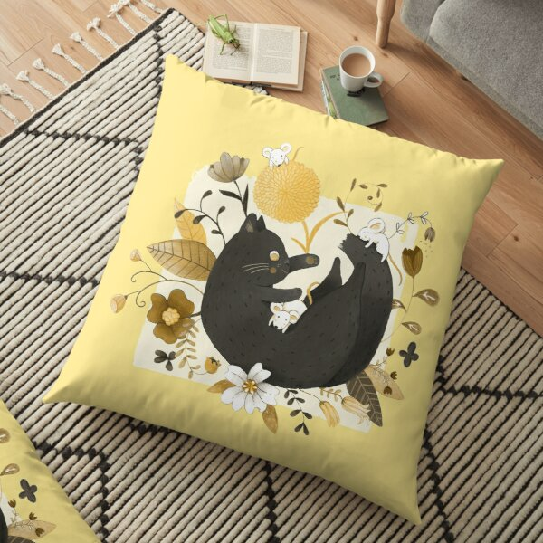 Happy Together Floor Pillow