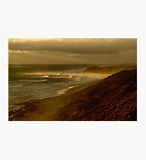 Sunset Sunburst, 13th Beach, Surf Coast Photographic Print