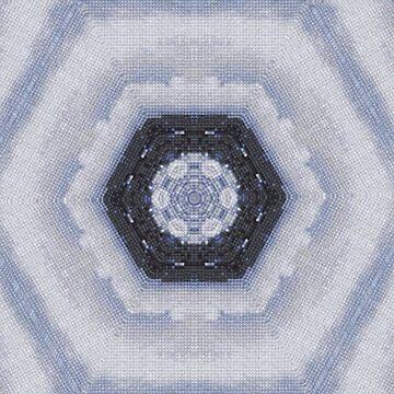 Sea Through Mirrors (Cross Stitch) by DeneWest