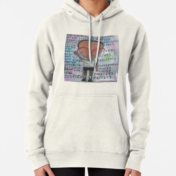I really do care Pullover Hoodie