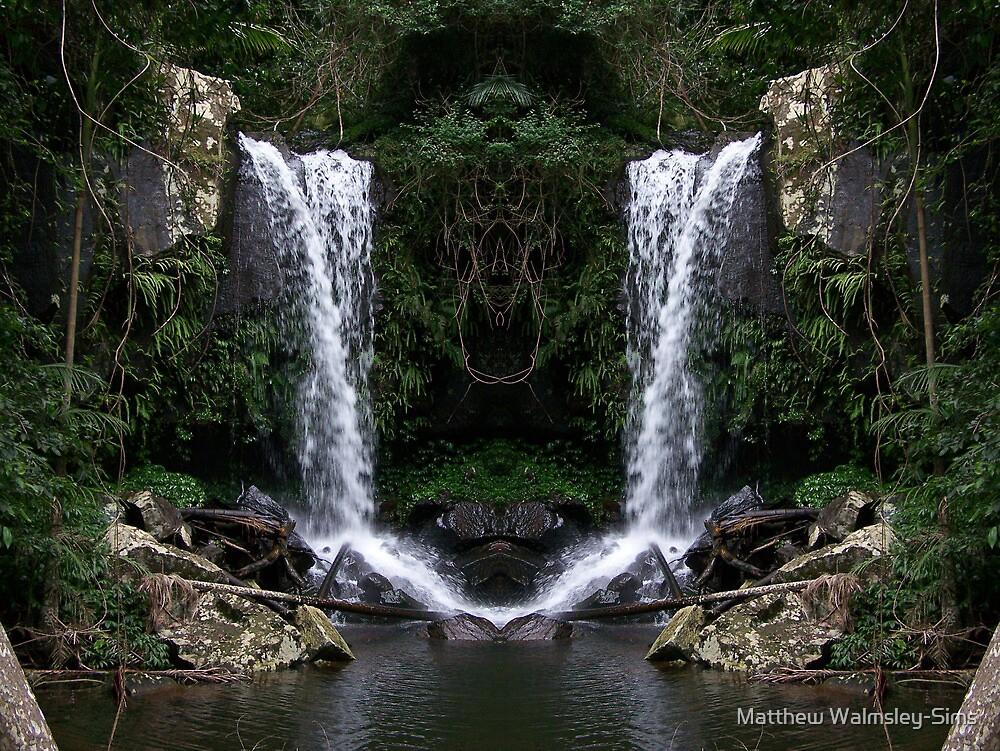 Curtus Falls Mirrored by Matthew Walmsley-Sims